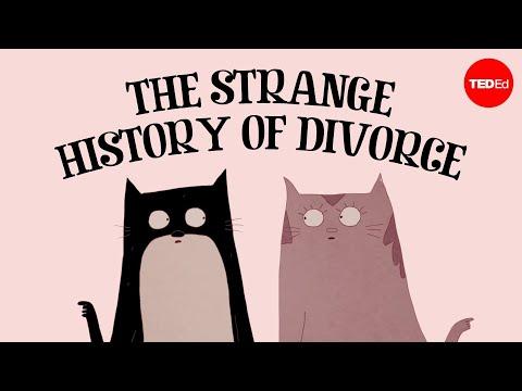 Historie rozvodu