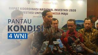 Presiden Jokowi Pantau Kondisi 4 WNI yang Positif Terinfeksi Virus Corona di Kapal Diamond Princess