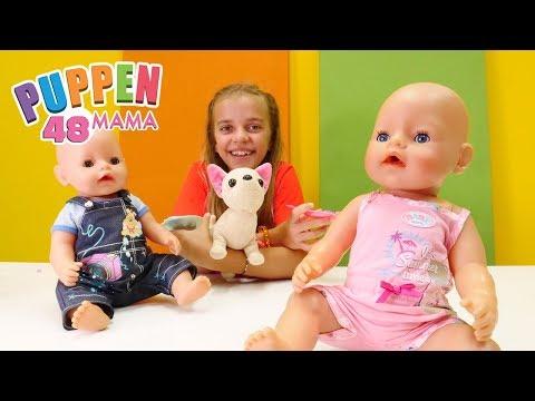 Puppen Mama - Eine Überraschung für Rose. Spiele mit Baby Born