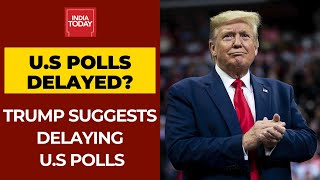 Donald Trump Suggests Delaying US Presidential Elections Over Voter Fraud - Download this Video in MP3, M4A, WEBM, MP4, 3GP