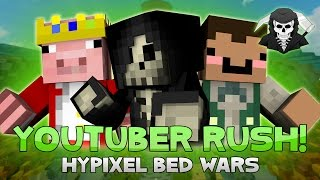 YOUTUBER BED WARS EVENT! EPIC RUSH GAME! (w/TechnoBlade, ShadowApples, xNestorio & more)