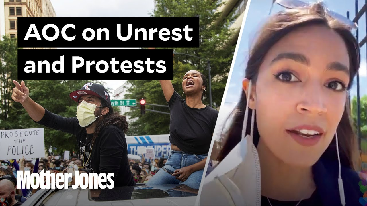 "AOC: Asking for an ""End of Unrest"" Is ""Asking for Injustice to Continue"" thumbnail"