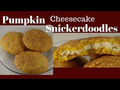 Pumpkin Cheesecake Snickerdoodles Cookies