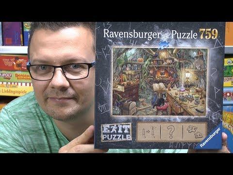 Exit Puzzle Hexenküche (Ravensburger) - Ein Exit / Escape Spiel als Puzzle!