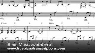 Rush - Ferras - Piano cover