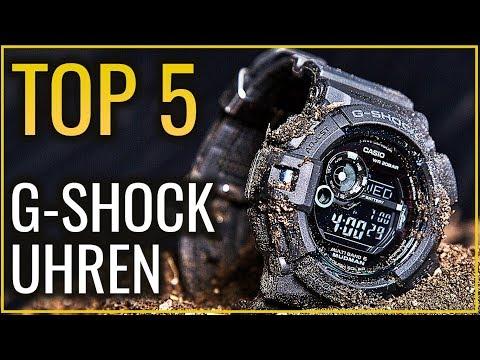 ✅ TOP 5 BESTEN CASIO G SHOCK Uhren für Männer 2019! Welche Herren Armband Uhr kaufen?