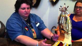 Native American Warrior Doll