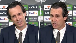Emery reflects on reaching FIFTH Europa League final after knocking Arsenal out