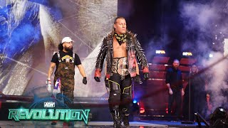 CHRIS JERICHO ENTRANCE FROM AEW REVOLUTION | ORDER THE REPLAY NOW