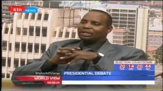 World view: 18th July 2017 Presidential debate