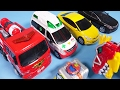 Download Video TOBOT R CarBot Car Toys With Dinosaur Power Rangers Toy