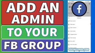 How to Add Someone an Admin of Your Facebook Group | 2021