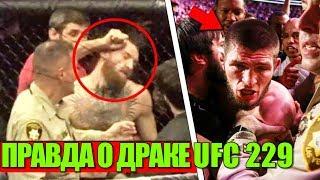 ПРАВДА О ДРАКЕ ПОСЛЕ БОЯ ХАБИБ - КОНОР НА UFC 229