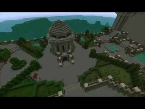 Fable 3 Fairfax Castle + Bowerstone Market. Minecraft Project