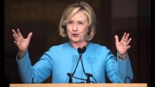 Clinton takes White House bid on the road