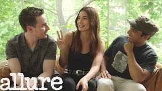Lily Aldridge Talks Beauty And Wellness With Her Glam Squad | Allure