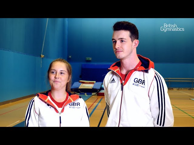 Meet The World Games team – Double-mini trampoline