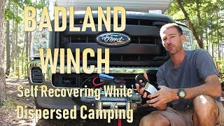 BadLand Winch for Dispersed Camping