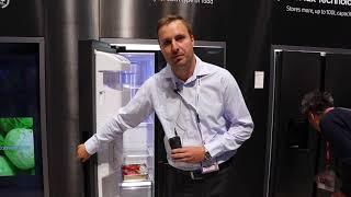 IFA 2018: Nové trojdverové amarické chladničky Samsug