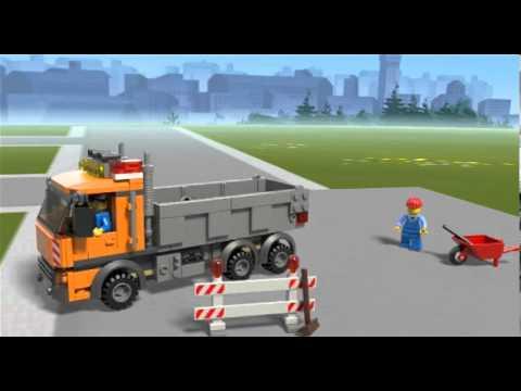 Vidéo LEGO City 4434 : Le camion à benne basculante