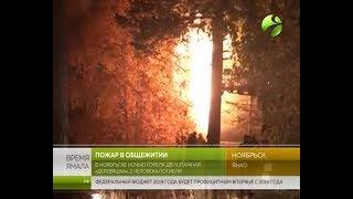 Трагедия в Ноябрьске. При пожаре погибли люди