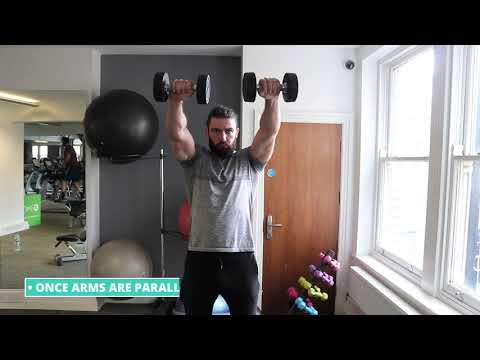 Front Two-Dumbbell Raise