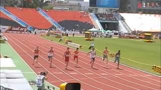 WYC Donetsk 2013 - Octathlon 100m  - Jan Doležal 11,45s