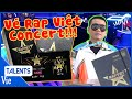 WOWY unbox VÉ VIP RAP VIỆT ALL-STAR CONCERT
