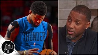 'Stop Settling For 3-pointers' - Tracy McGrady's Advice For Paul George And The Thunder | The Jump