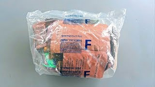 Tasting Australian Military MRE (Meal Ready to Eat)