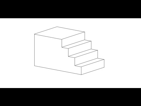 How to Draft an Isometric View of Stairs