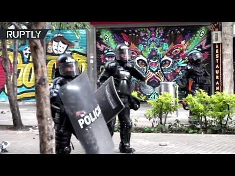 Violent anti-govt protests return to Bogota