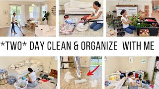 NEW YEAR *TWO DAY* CLEAN & ORGANIZE WITH ME // EXTREME CLEANING MOTIVATION // Jessica Tull cleaning