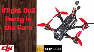 Iflight dc3 Dji fpv system party in the park