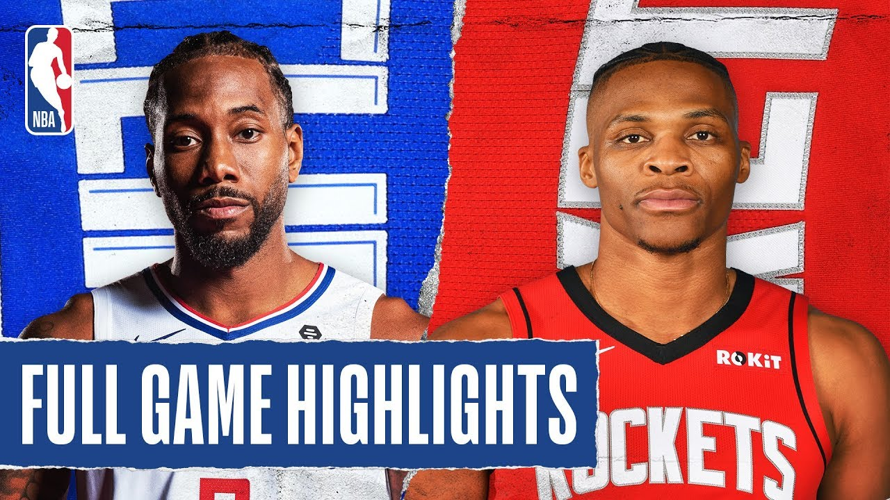Los Angeles Clippers vs Houston Rockets [Thu, Mar 05, 2020]