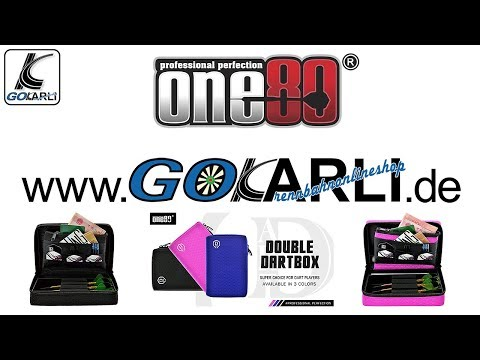 one80 Double Dartbox Dart Chase Box Wallet alle Farben