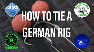 HOW TO TIE A GERMAN RIG