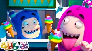 आइसक्रीम स्टेशन   हिंदी कार्टून   Oddbods Hindi