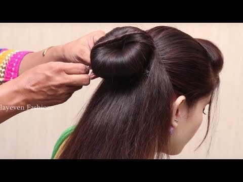 Trendy Hairstyles For Partywedding Hairstyles Juda Simple Hairstyle