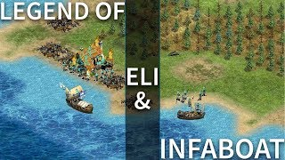 AoE2 - The Legend of Eli and Infaboat