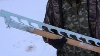 Титановые коловорот для зимней рыбалки