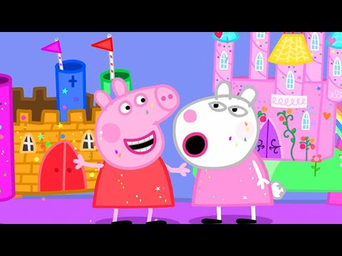 Peppa Pig English Episodes | Peppa's School Project 👨🏼🎨 | Peppa Pig Official | 4K
