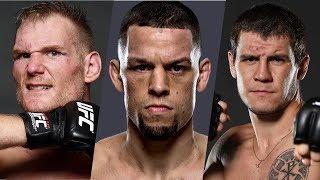 Нейт Диаз стал отцом, Никита Крылов ведет переговоры с UFC, тяжеловес покинул UFC