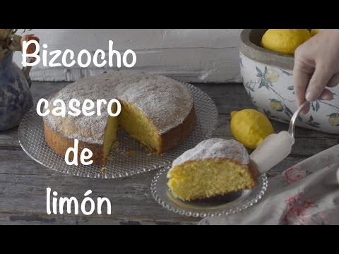 Bizcocho Casero De Limón