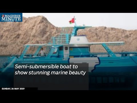 Semi-submersible boat to show stunning marine beauty