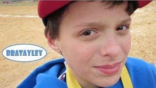 It's NOT Supposed to Snow at Baseball! (WK 167.5) | Bratayley