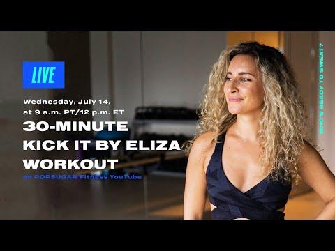 30-Minute Kickboxing Workout With Kick It By Eliza