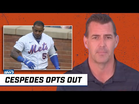 Brodie Van Wagenen says Yoenis Cespedes is opting out | New York Mets | SNY