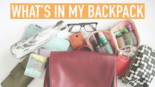 WHATS IN MY BACKPACK | University Supplies + Emergency Kit