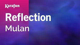 Reflection - Mulan | Karaoke Version | KaraFun